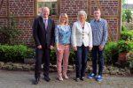 Die Kreistagskandidaten: Reinhold Hilbers, Birte Gövert, Monika Wassermann und Michael Bunse