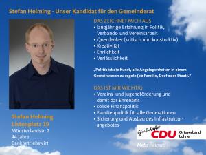 19. Listenplatz: Stefan Helming